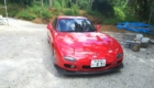 マツダ RX7(赤)
